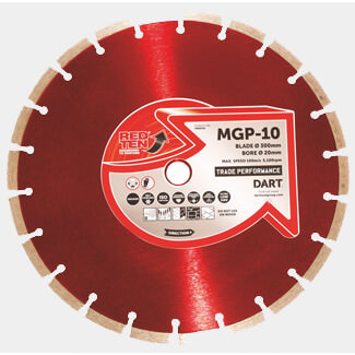 Dart Red Ten MGP-10 Diamond Blade - More Sizes Available