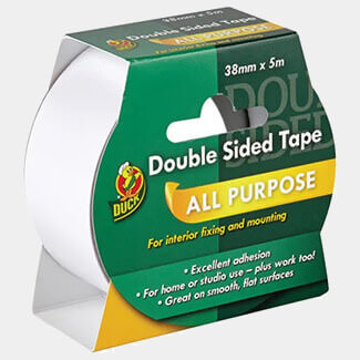 Shurtape Double Sided Duck Tape 38mm x 5m