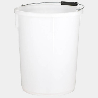 The Walsall Plasteres Bucket White 5gal