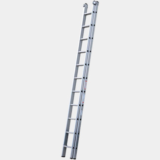 Youngman DIY 100 2 Section Extension Ladder 3.38m