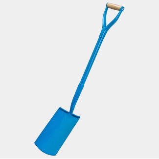 Ox Tools Trade Solid Forged Treaded Digging Spade