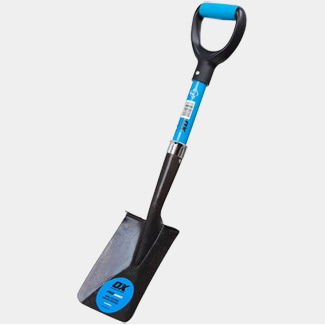 Ox Tools Pro Mini Square Mouth Shovel