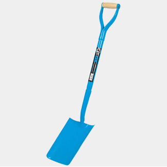 Ox Tools Trade Solid Forged Trenching Shovel