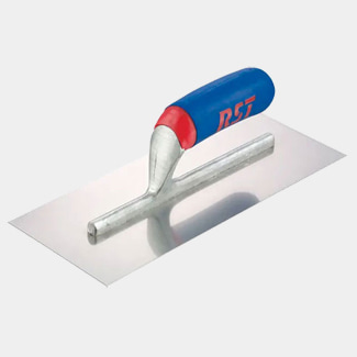 RST Tools Plasterers Finishing Trowel Banana Soft Touch Handle