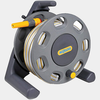 Hozelock Compact Reel And 20m Of 12.5mm Hose