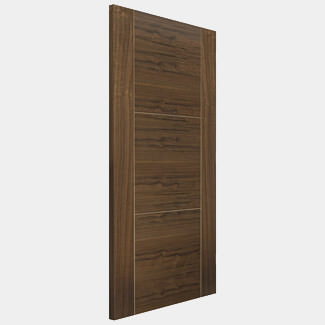 JB Kind 44mm-Thick Internal Walnut Fully Finished Mistral 3P FD30 Flush Door - Various Sizes Available