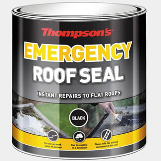 Thompson Emergency Roof Seal Black - Sizes Available