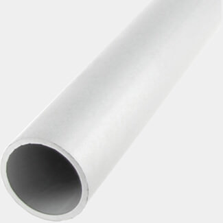 Rothley Anodised Aluminium Round Tube 1 Meter Length - Various Diameter Available