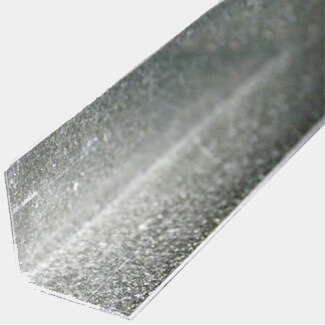 Buildworld Galvanised Angle 25 x 50 x 0.7mm Thickness x 3000mm Length