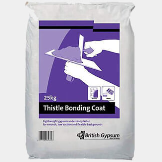 British Gypsum Thistle Bonding Coat 25Kg - Various Quantity Available