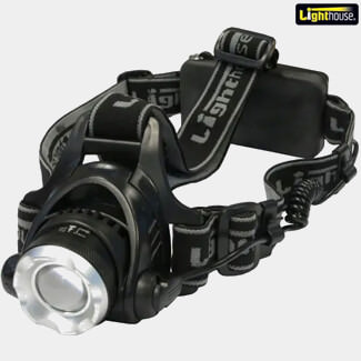 Lighthouse Elite Focus Rechargeable LED Headlight 350 lumens