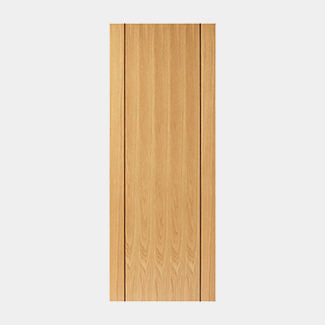JB Kind Pre Finished Oak Chartwell Fire Door - Various Width Available