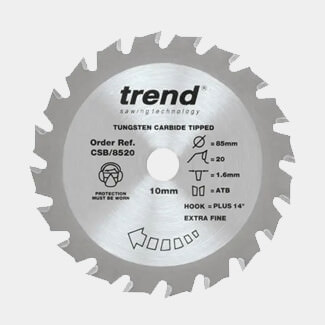 Trend CraftPro Mini Saw Blade 85mm - Different Variants Available