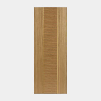 JB Kind Pre Finished Oak Venus Fire Door - Various Width Available