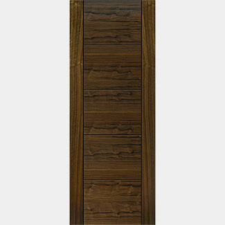 JB Kind Pre Finished Tigris Walnut Fire Door - Various Width Available