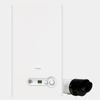 Vokera Compact A DIN - ErP -  Combination Boiler Flue Included - Variation Available