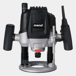 Trend 1-2 Inch Variable Speed Router 2100W 240V