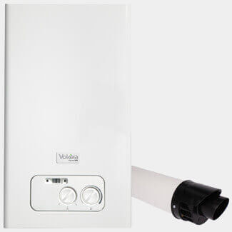 Vokera Mynute 20VHE - ErP - Open Vent Boiler And Flue