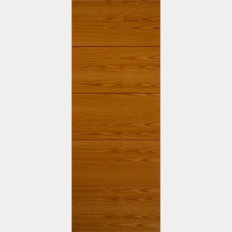 JB Kind Royale VT5 Oak Pre-finished internal Door 1981mm-Height x 35mm-Thick - Various Width Available