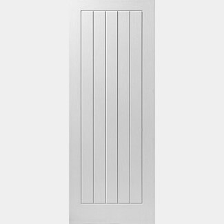 JB Kind Cottage 5 Moulded Interior Primed Fire Doors With Cottage style - Various Size Available