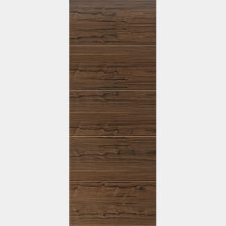 JB Kind Lara Walnut Pre-finished Interior Door 1981mm-Height x 35mm-Thick - Various Width Available