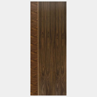 JB Kind Mayette Walnut Pre-Finished Internal Door - Various Widths Available