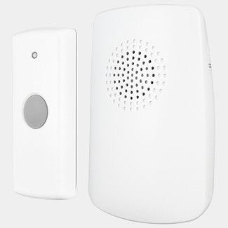 Uni-Com Portable Door Chime White