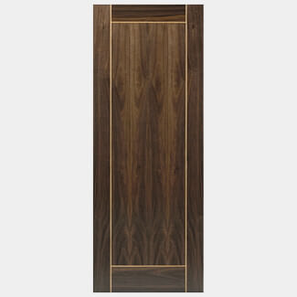 JB Kind Vina Walnut Pre-Finished Internal Fire Door - Various Widths Available