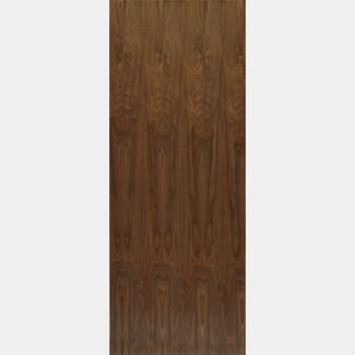 JB Kind 1981mm-Height x 44mm-Thick Walnut Veneered Flush Interior Pre-finished Fire Doors - Various Width Available