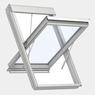 Velux Smoke Ventilation System For Pitched Roofs
