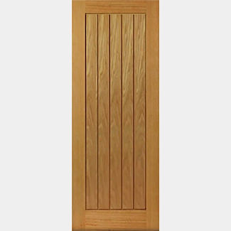 JB Kind Pre-Finished Thames II Oak Internal Fire Door - Various Width Available