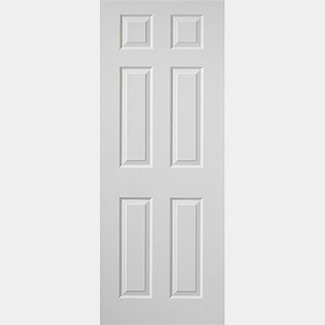 JB Kind Internal White Smooth Colonist Fire Door - Various Height And Width Available