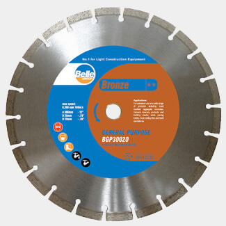 Belle Bronze General Masonry BGP Diamond Blade - Various Sizes Available