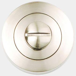 Dale Bathroom Turn And Release Satin Nickel Plated