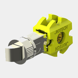 Jigtech Smart Standard Passage Latch - Various Finish And Size Available