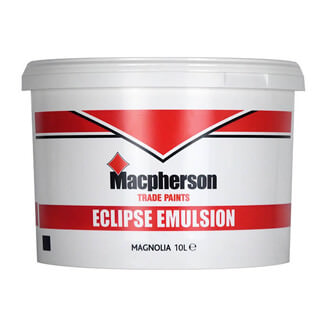 Macphersons Eclipse Emulsion Paint 10L - Various Colours Available