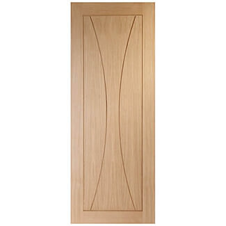 XL Joinery Verona Internal Oak Fire Door - More Sizes Available