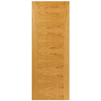 JB Kind Ostria Pre-Finished Oak Internal Fire Door - Various Width Available