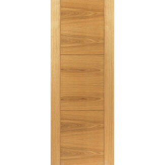 JB Kind Mistral Pre Finished Oak FD30 Internal Fire Door 44mm-Thick - Various Sizes Available