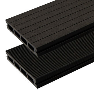 Buildworld HD Deck XS Composite Decking Board Lava 146 x 25 x 3600mm Length