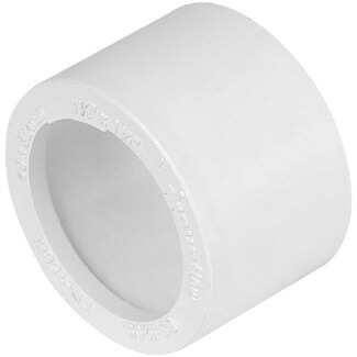 Buildworld 40 x 32mm Solvent Weld Reducer - Available in White or Black