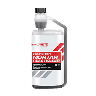 Bostik Sealocrete Sealomix Ultra Mortar Plasticiser Concentrated 1Litre