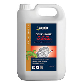 Bostik Cementone Mortar Plasticiser 5 Litre Can