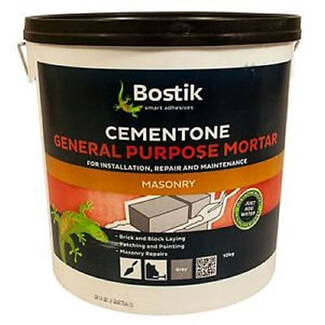 Bostik Cementone General Purpose Mortar Grey - Various Pack Sizes Available