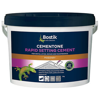 Bostik Cementone Rapid Setting Cement Grey - Various Pack Sizes Available