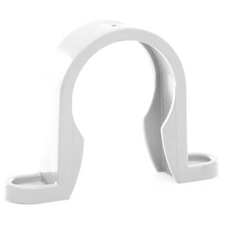 Buildworld 40mm Push Fit Clips - Available in White or Black