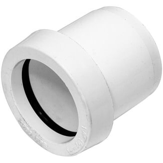 Buildworld 40 x 32mm Push Fit  Reducer - Available in White or Black