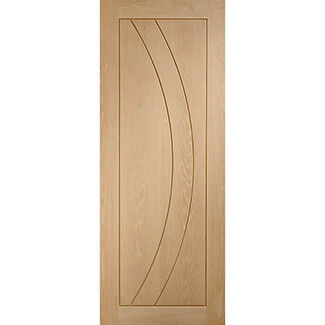 XL Joinery Salerno 44mm-Thick Internal Oak Fire Door 1981mm-Height - Various Width Available