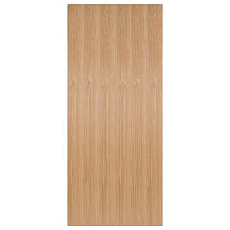 LPD Flush 44mm Thick Pre-finished Internal Oak Fire Door - Various Sizes Available