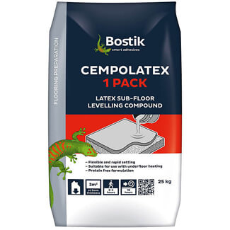 Bostik Cempolatex One Pack Sub-Floor Levelling Compound Bag 25Kg
